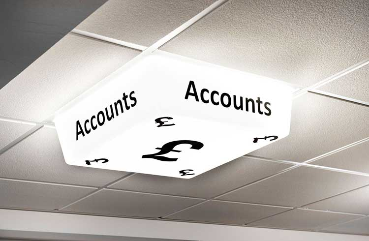 Personalised Sign - Accounts Department