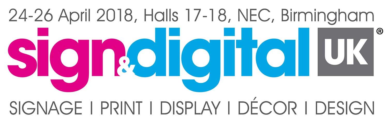 Sign & Digital UK Event April 2018