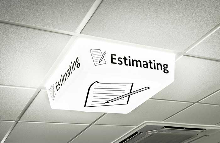 Custom Sign - Estimating